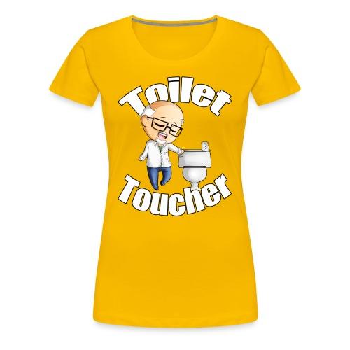 Toilet Toucher - Women's Premium T-Shirt