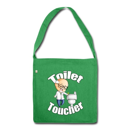 Toilet Toucher - Shoulder Bag made from recycled material