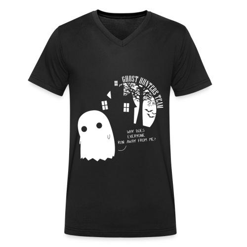 Maglia Uomo GHT - T-shirt ecologica da uomo con scollo a V di Stanley & Stella