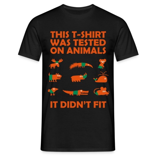 Animal tested - Camiseta hombre