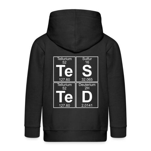 Te-S-Te-D (tested) - Kids' Premium Zip Hoodie
