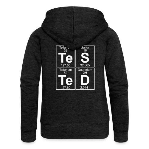 Te-S-Te-D (tested) - Women's Premium Hooded Jacket
