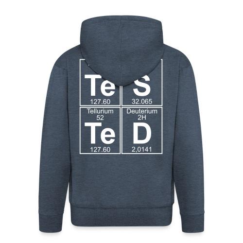 Te-S-Te-D (tested) - Men's Premium Hooded Jacket