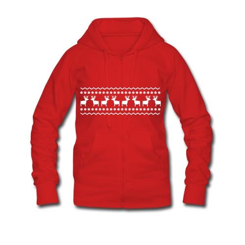 Frauen Sweatshirt - Frauen Premium Kapuzenjacke