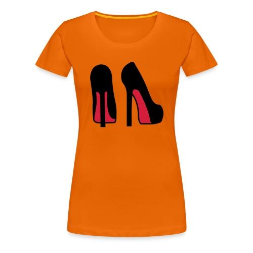Louboutins - Premium-T-shirt dam