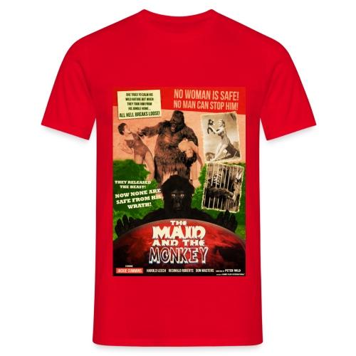 The Maid & the Monkey (Premium T) - Men's T-Shirt