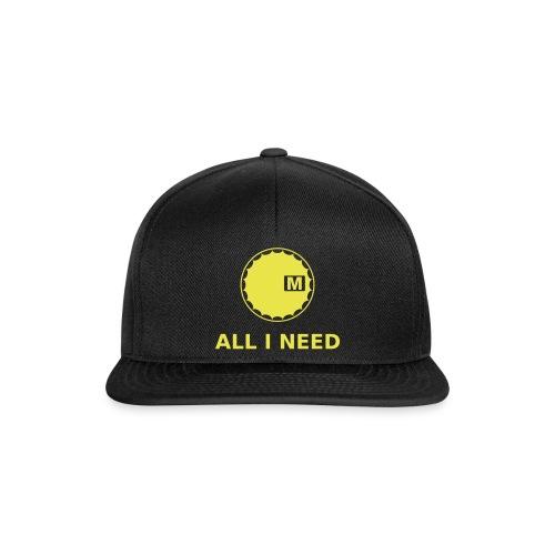 All i need Caps & Mützen - Snapback Cap