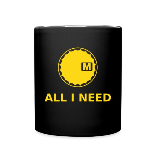 All i need Flaschen & Tassen - Tasse einfarbig