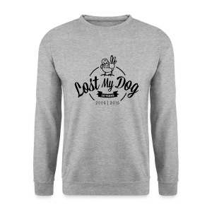 Men's 10 Year Sweater (Black Print) - Men's Sweatshirt