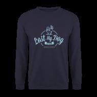 Hoodies & Sweatshirts ~ Men's Sweatshirt ~ Men's 10 Year Sweater (Blue Print)