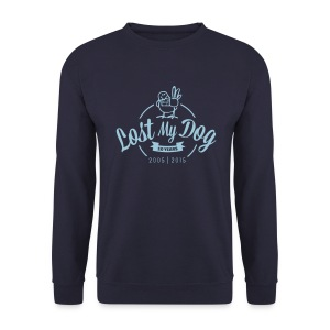 Men's 10 Year Sweater (Blue Print) - Men's Sweatshirt