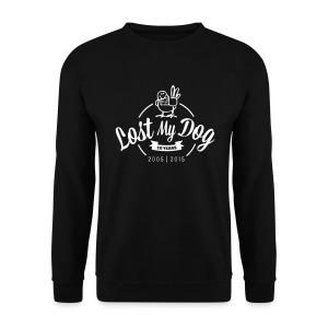 Men's 10 Year Sweater (White Print) - Men's Sweatshirt