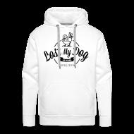 Hoodies & Sweatshirts ~ Men's Premium Hoodie ~ Men's 10 Year Hoodie (Black Print)