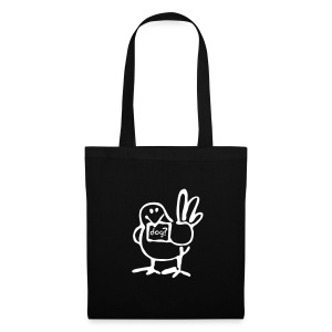 Tote Bag - White bird - Tote Bag