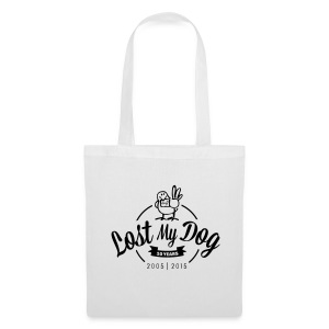 Tote Bag - Black 10 Year logo - Tote Bag