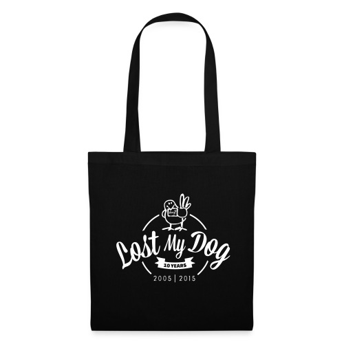 Tote Bag - White 10 Year logo - Tote Bag