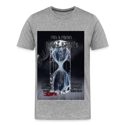 Dunkle Stunden farbig  (T-Shirt Männer) - Männer Premium T-Shirt