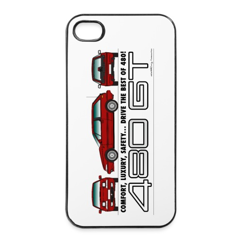 Coque iPhone 4/4S GT - Coque rigide iPhone 4/4s