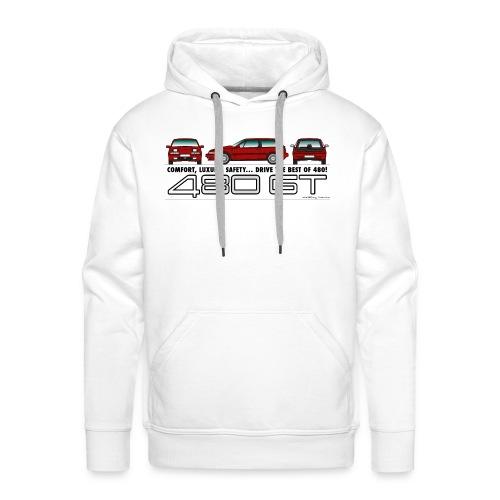 Sweat shirt GT - Homme - Sweat-shirt à capuche Premium pour hommes