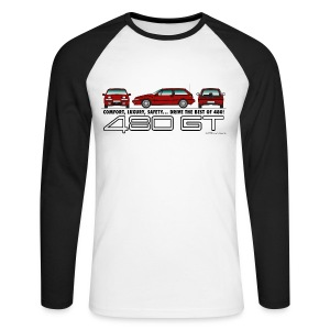 T-shirt baseball manches longues GT - Homme - T-shirt baseball manches longues Homme