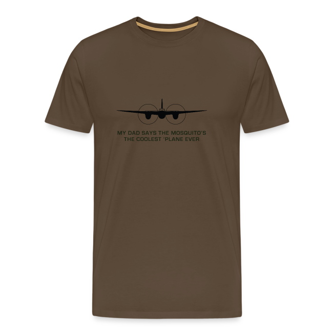 "Adult ""Dad"" T-Shirt - Brown"