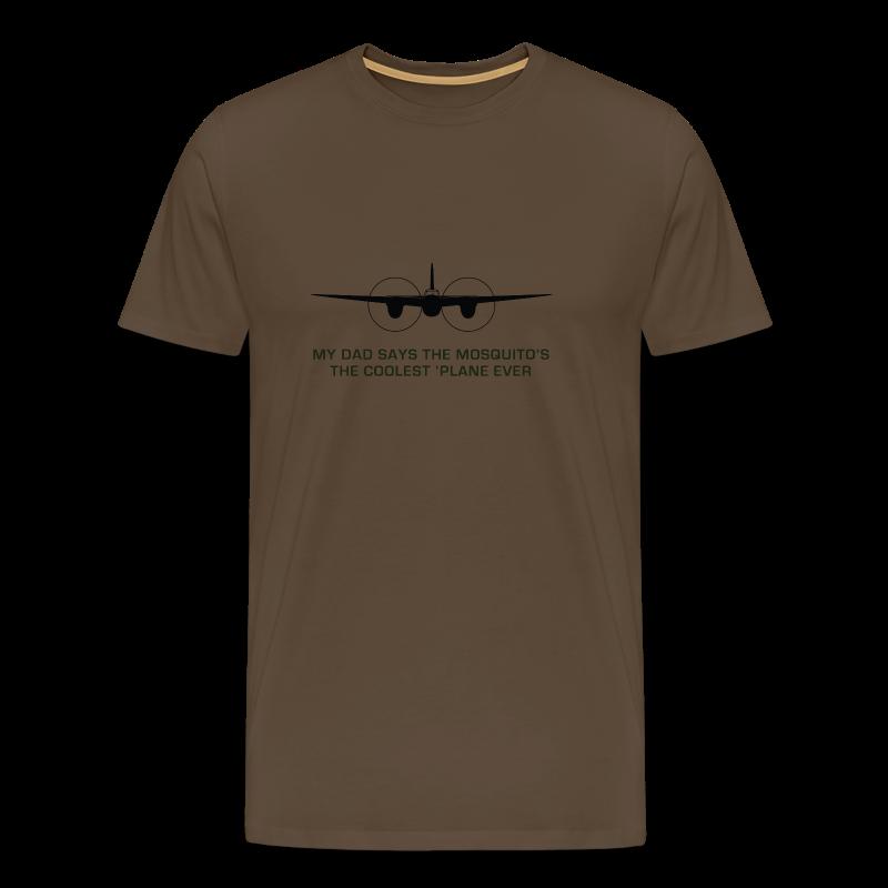Adult Dad T-Shirt - Brown - Men's Premium T-Shirt
