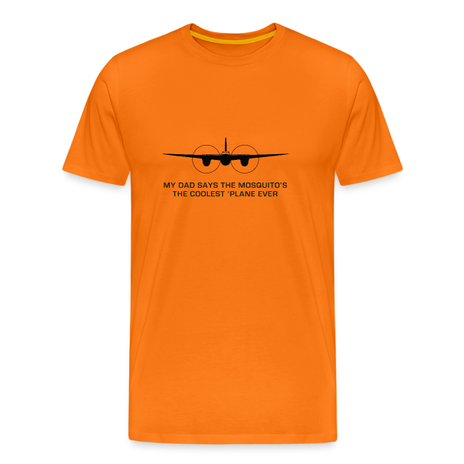 "Adult ""Dad"" T-Shirt - Orange"
