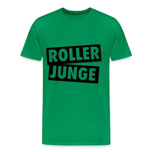 Roller JUNGE T-Shirt - Männer Premium T-Shirt