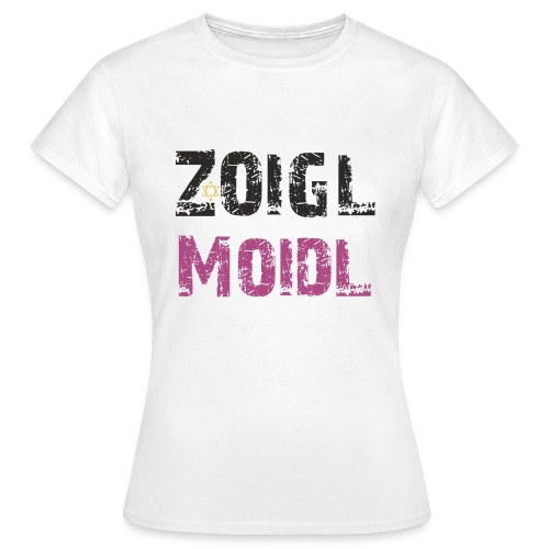 Zoigl Moidl - Frauen T-Shirt