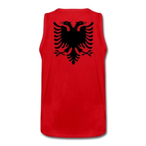 Canotta Rossa (Aquila Albanese RETRO) - Canotta premium da uomo