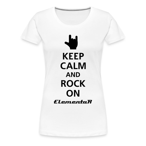 Shirt, Damen- Keep Calm - Frauen Premium T-Shirt