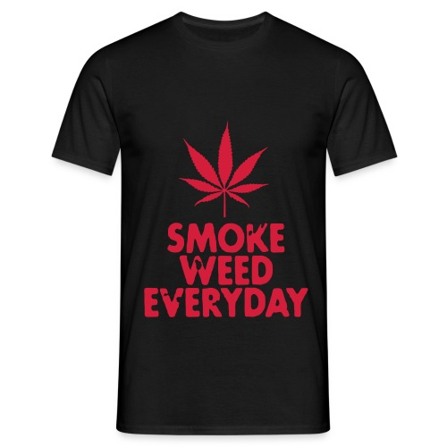 Smoke Weed EveryDay - Herre-T-shirt