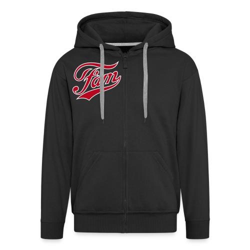 Fam Men's Zip Hoodie - Men's Premium Hooded Jacket