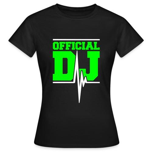 T-shirt Femme - rock music electro