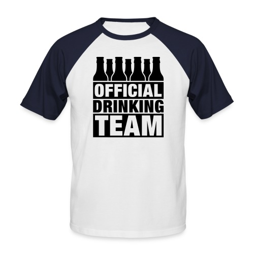 Official Drinking Team - Men's Baseball T-Shirt