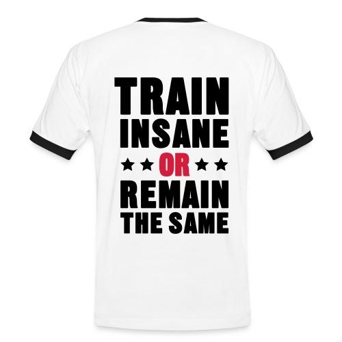 Camiseta Train insane - Camiseta contraste hombre