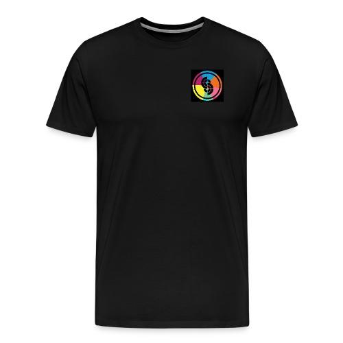 Sidetrak Neon Vinyl - Men's Premium T-Shirt