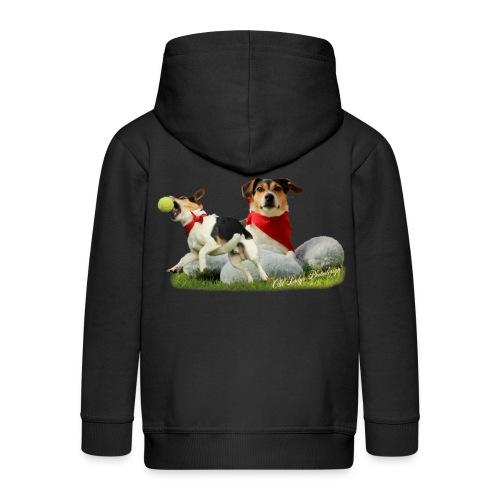 Jack Russel Terrier - Kinder Premium Kapuzenjacke