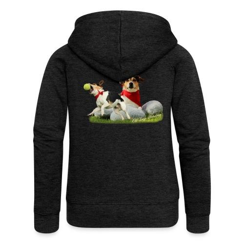 Jack Russel Terrier - Frauen Premium Kapuzenjacke