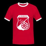 T-Shirts ~ Männer Kontrast-T-Shirt ~ SVA Rot Weiß Men