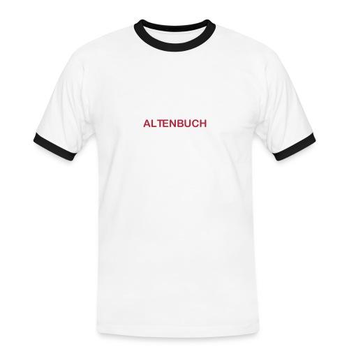SVA Rot Weiß Men - Männer Kontrast-T-Shirt