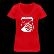 T-Shirts ~ Frauen T-Shirt mit V-Ausschnitt ~ SVA Rot Weiß Women