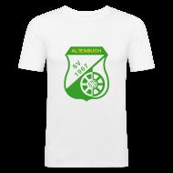 T-Shirts ~ Männer Slim Fit T-Shirt ~ SVA Farbenspiel Men