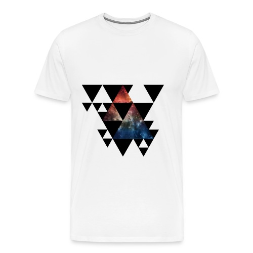 Universe Triangle - Männer Premium T-Shirt