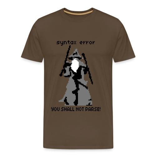 Mage Pixel - Männer Premium T-Shirt
