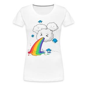 Wolkenbogen - Frauen Premium T-Shirt