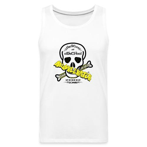 Gym Skull black - Männer Premium Tank Top