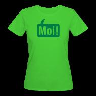 T-shirts ~ Vrouwen Bio-T-shirt ~ Hoi Shirt Groen/Groen