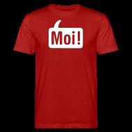 T-shirts ~ Mannen Bio-T-shirt ~ Moi Shirt Rood/Wit