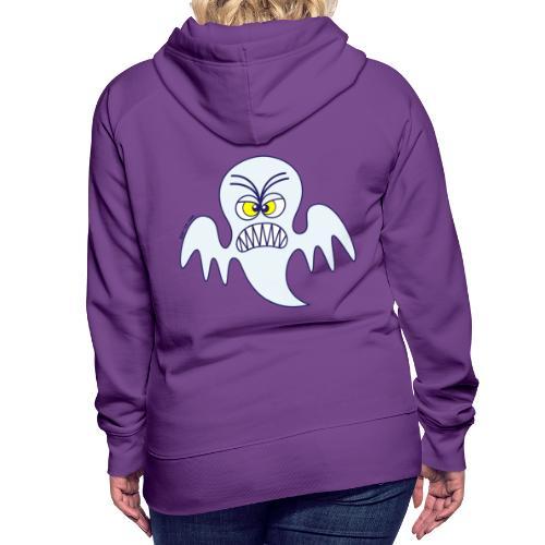 Scary Halloween Ghost Hoodies & Sweatshirts - Women's Premium Hoodie